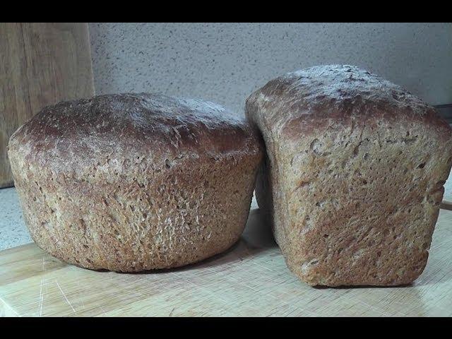 рецепт бездрожжевого ржаного хлеба с духовке