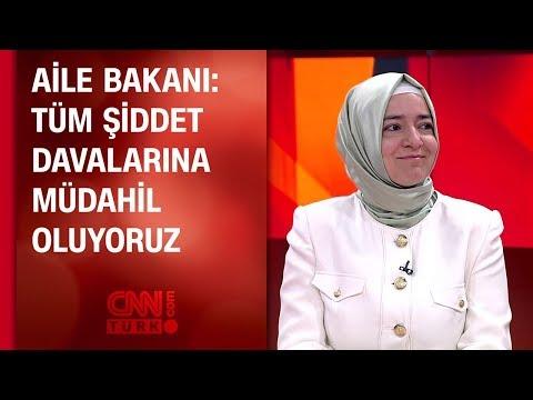 Aile Bakanı Fatma Betül Sayan Kaya CNN TÜRK'e konuştu