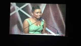 Jamie Grace Video - [Jamie Grace] Accepting My First Ever Dove Award [Best New Artist]!