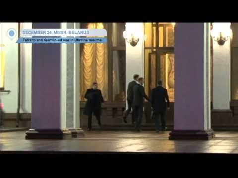 Ukraine, Russia and OSCE Resume Peace Talks in Minsk: Negotiations to end war in Ukraine