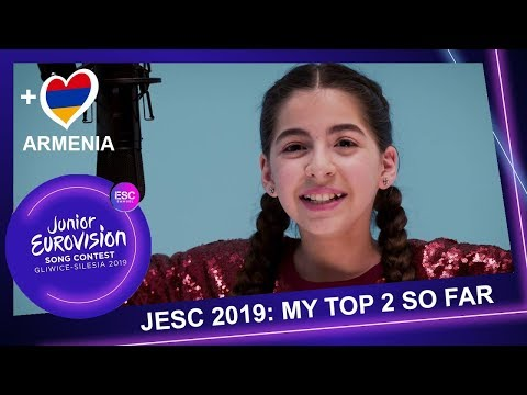 JUNIOR EUROVISION 2019| MY TOP 2 SO FAR (+