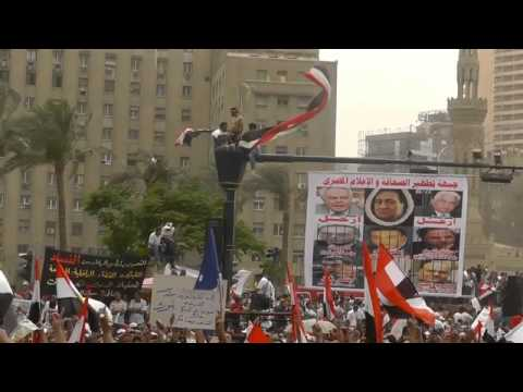 Egyptians Continue Rallying for Civilian Control