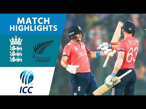 ICC #WT20 England v New Zealand - Semi-Final Highlights
