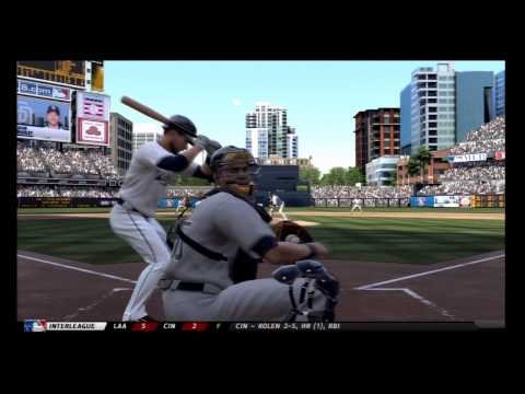 MLB 12 The Show Gameplay Yankees Season 1 – Game 2 Padres