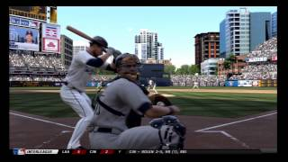 MLB 12 The Show Gameplay Yankees Season 1 - Game 2 Padres