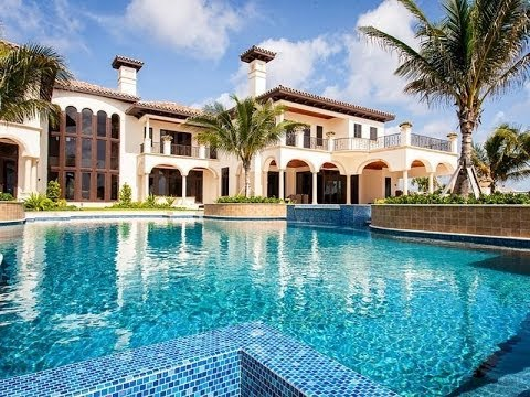 Spectacular european style oceanfront compound in vero beach florida youtube - Big mansions with pools on the beach ...