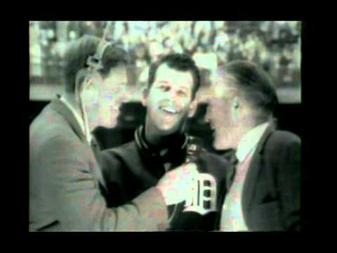 NBC 1968 World Series game 5 interviews Cardinals Detroit Tigers Mickey Lolich Al Kaline.mpg