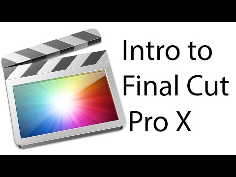 Intro to Final Cut Pro X