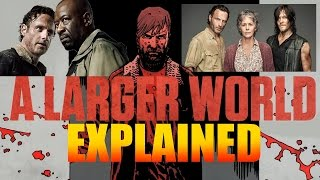 Explained - Jesus, The Hilltop & A Larger World - The Walking Dead Season 6