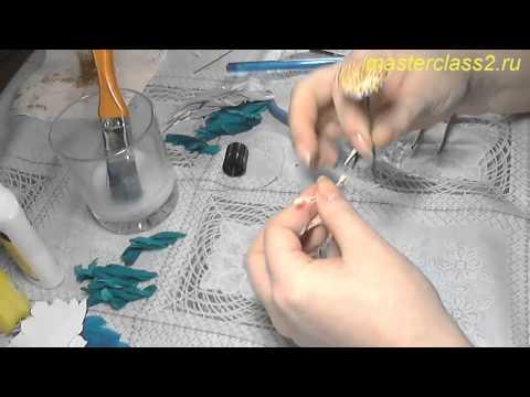 Работа с кожей мастер классы видео