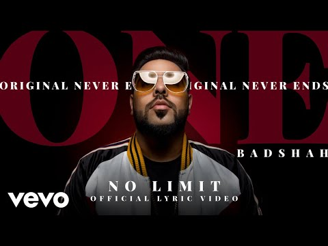 Badshah - No Limit| ONE Album | Official Lyric Video