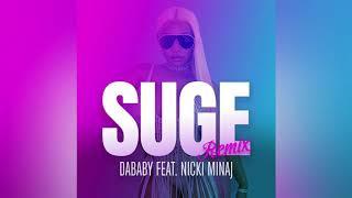 Nicki Minaj - SUGE (Remix) feat. DaBaby [Official Audio]