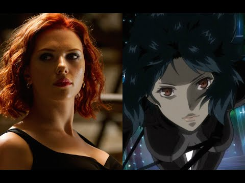 Scarlett Johansson Cast As Japanese Anime Character