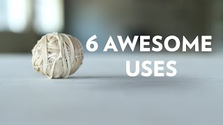 6 rubber band tricks for DIY project ideas