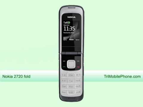 Nokia 2720 Fold Mobile Phone Specification, Features and Slide show