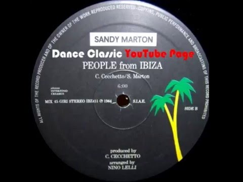 Sandy Marton - People From Ibiza (Extended)