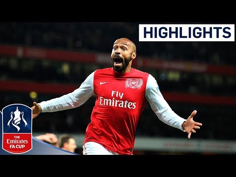 Amazing Henry Goal on Return to Arsenal - Arsenal 1-0 Leeds Utd | FA Cup 3rd Round Proper 09-01-12