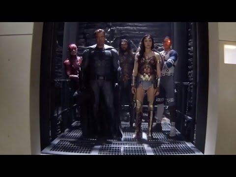Liga de la Justicia Fin de Filmación [HD]