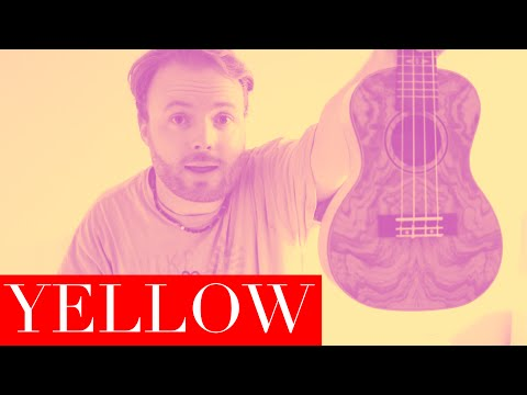 Yellow - Coldplay (EASY UKULELE TUTORIAL)