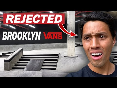 I Was REJECTED From NYC's New Vans Skatepark