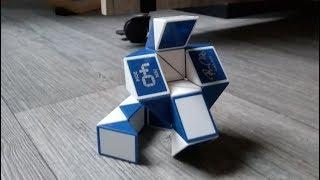 Rubik's snake or Rubik's twist - How to make a cobra