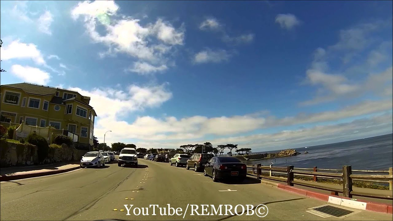 Driving Ocean View Blvd Pacific Grove California Youtube