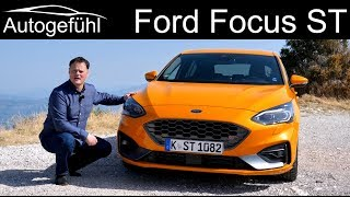 All-new Ford Focus ST 280 hp FULL REVIEW - Autogefühl