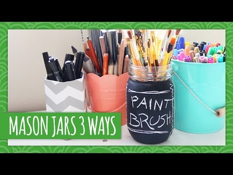 Mason Jars 3 Ways - Weekly Recap - HGTV Handmade