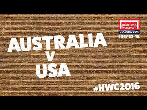 Australia v USA   Men's Globe Quarter Finals #HWC2016