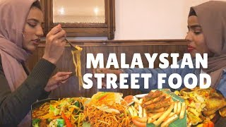 TRYING MALAYSIAN FOOD FOR THE FIRST TIME | HALAL DINNER DIARIES EP 2- Makan Cafe