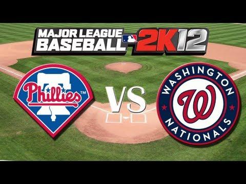 MLB 2K12: Philadelphia Phillies vs. Washington Nationals – Viewer Request