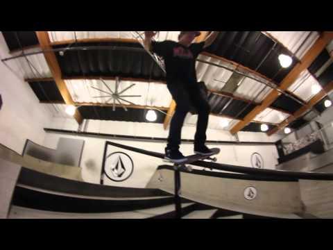 Micky Papa Nollie Flip Crook Handrail Volcom Park