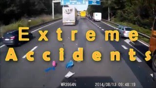 Extreme accidents on russian roads #1