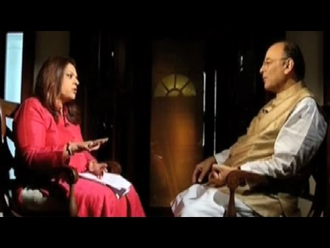 Explosive Arun Jaitley interview - Part 1