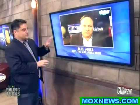 Alex Jones Sounds Off in 'The Young Turks' Interview with Cenk - January 14, 2013