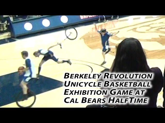 Berkeley Revolution Unicycle Basketball Exhibition