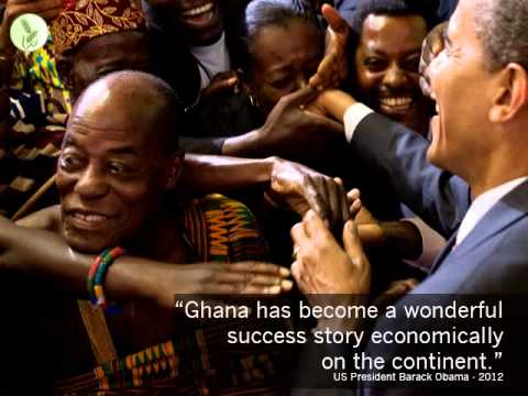 Growth Green Agriculture (GG Agriculture) - Obama on why invest in Ghana