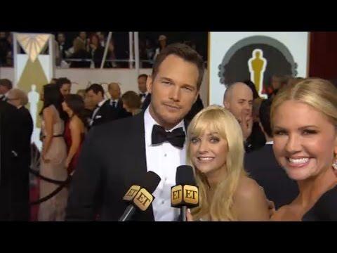 Chris Pratt, Anna Faris Continue Reign as Cutest Red Carpet Couple Ever: Watch