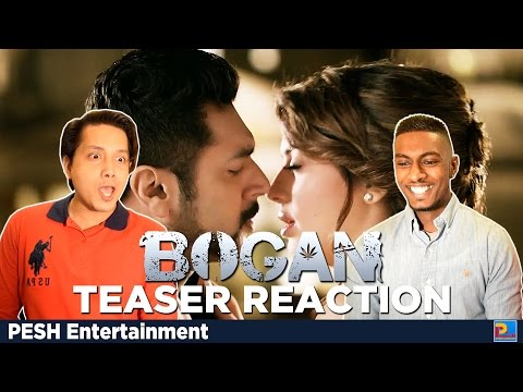 Bogan Teaser Reaction & Review | Jayam Ravi, Arvind Swamy | PESH Entertainment