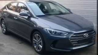 ALL New Avante AD(Elantra) 2016 spy shot 현대 아반떼AD 2016 스파이샷