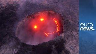 Kilauea volcano on Hawaii