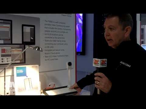 InfoComm 2014: Ricoh Presents the P3000 Unified Communication System