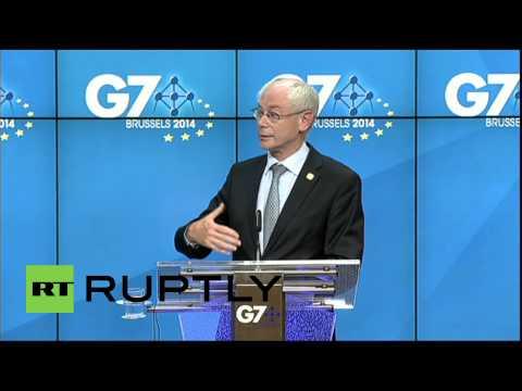 Belgium: American gas won't save us, say EU leaders