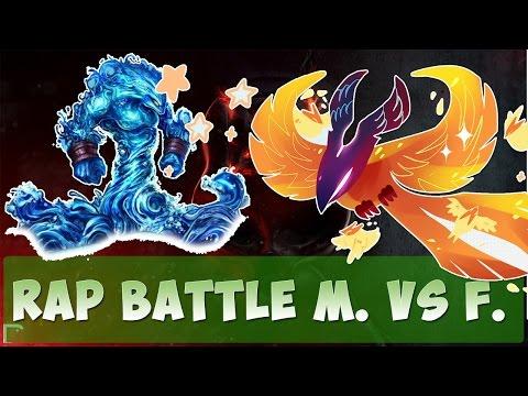 R/D/S - МОРФЛИНГ ПРОТИВ ФЕНИКСА [Dota 2 Rap Battle]