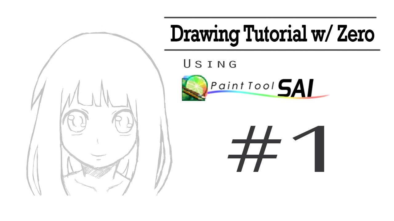 Zero Outline Drawing Tutorial w Zero