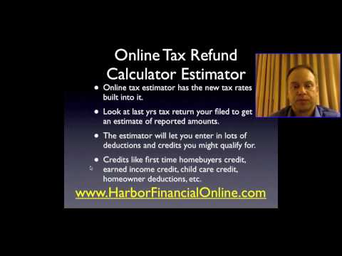 Individual Income Tax Return Filing & Calculator 2012, 2013