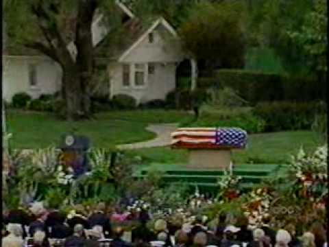 Richard Nixon Funeral (2): Billy Graham's opening remarks ...