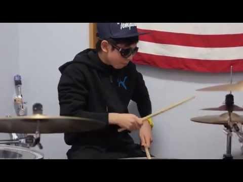 eiku harmonize Gotta  Be Somebody Nickelback   (Drum Cover)
