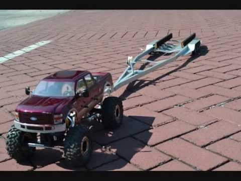 rc trucks with trailers and boats with Watch on Custom built c er with ford truck in addition Watch in addition Showthread besides Watch besides Boat Towing Safety.