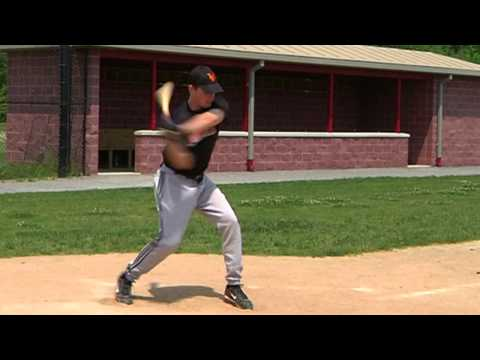 8/12 Rotational hitting. Hip rotation during baseball launch phase. Batting mechanics and analysis